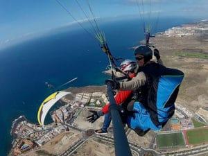 paragliding Tenerife