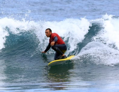 Surf Life Tenerife instructor Antonio