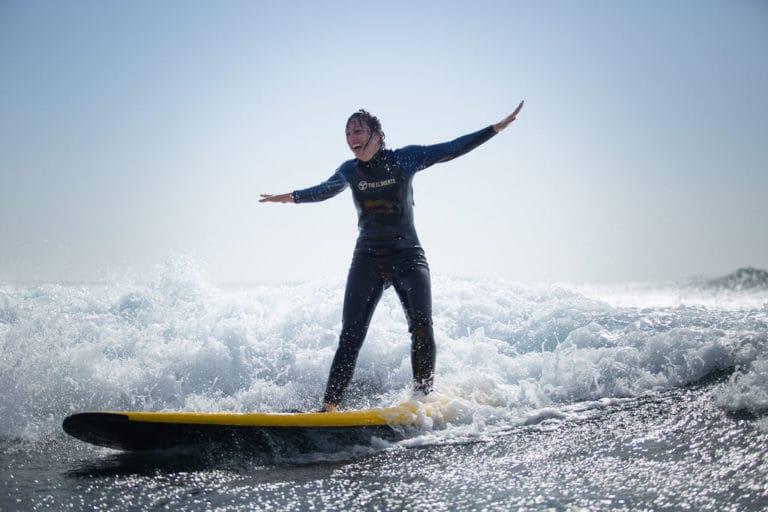 Surf lesson Las Americas Tenerife