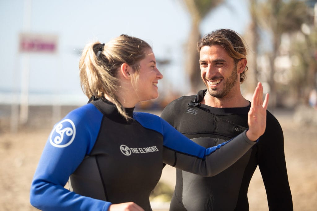 Surf Lesson - Surf Life Tenerife